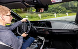 94 Kia EV6 prototype drive 2021 JA cornering