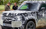 2020 Land Rover Defender prototype ride - Matt Saunders interview