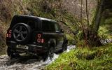 94 Land Rover Defender V8 2021 official images 90 wading