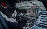 94 Lotus Evija 2021 track drive dashboard