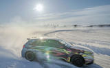 Mercedes-AMG A45 2019 prototype ride - drift side