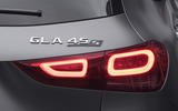 Mercedes-AMG GLA 45 S 2020 official press images - rear lights