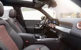 94 Mercedes Benz EQB 2021 official images cabin