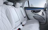 94 Mercedes Benz EQS interior official rear seats
