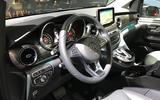 Mercedes-Benz V-Class 2019 reveal - dashboard