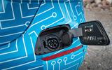 Mercedes-Benz E-Class 2020 prototype ride - charging plug