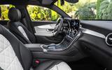 Mercedes GLC Coupe 2019 press - cabin