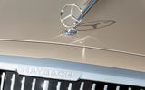 2021 Mercedes-Maybach S-Class official images - badge