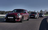 Mini John Cooper Works GP 2020 prototype official images - tracking