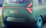 2020 Mini Urbanaut concept - rear end