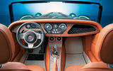 Morgan Plus Six 2019 official press images - dashboard