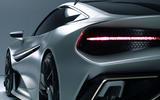 Naran Automotive hypercar official reveal - rear lights