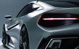Naran Automotive hypercar official reveal - rear lights