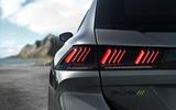 Peugeot 508 PSE official images - rear lights