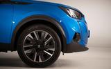Peugeot e-2008 reveal studio - alloy wheels