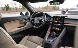 2020 Polestar 2 prototype drive - dashboard