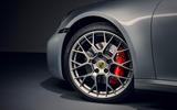 2019 Porsche 911 official reveal - press still alloy wheels