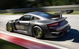 94 Porsche 911 GT2RSMR 25 official images tracking rear