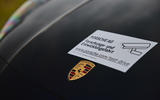 94 Porsche Cayene Turbo Coupe prototype 2022 nose badge
