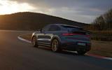 94 Porsche Cayenne GT 2021 official reveal tracking rear
