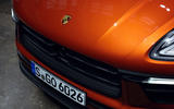 94 Porsche Macan 2021 official images studio bonnet