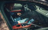 94 Porsche Taycan Cross Turismo prototype drive PW cabin