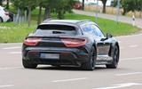 Porsche Taycan Cross turismo spy images - rear
