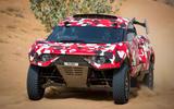 Prodrive BRX T1 in the desert - nose