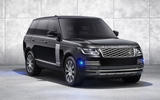 Land Rover Range Rover Sentinel official press images - static front