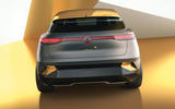 Renault Megane eVision concept official images - rear end
