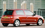 Renaultsport history picture special - Clio Renaultsport 172 rear