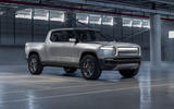 Rivian R1T electric pick-up reveal - static front