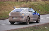 94 Skoda Enyaq coupe spies winter 2020 rear end