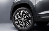 94 Skoda Kodiaq MY2021 facelift official images alloy wheels