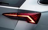 2020 Skoda Octavia estate official studio - rear lights