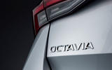 2020 Skoda Octavia estate official studio - rear badge