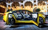 Skoda Vision iV prototype drive - doors open