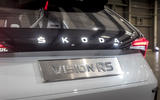 Skoda Vision RS concept drive - boot