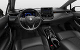 Suzuki Swace official press images - dashboard