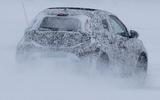 94 Toyota Aygo camo spy images rear