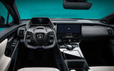 94 Toyota ZEV concept official reveal dashboard