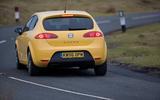 94 UBG Seat Cupra Leon Mk2 on road rear