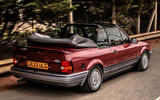 94 used buying guide Ford Escort XR3i cabrio tracking