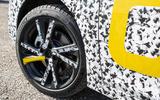 Vauxhall Corsa 2019 prototype drive - wheels