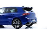 Volkswagen Golf R 2020 official reveal - rear end
