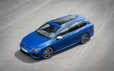 94 Volkswagen Golf R Estate 2021 official reveal static front