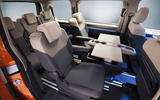 94 Volkswagen Multivan T7 2021 official images tray tables