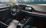 2020 Volkswagen Golf Mk8 official press - cabin