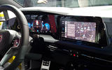 2020 Volkswagen Golf mk8 official reveal - dashboard