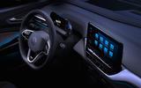2021 Volkswagen ID 4 prototype drive - infotainment